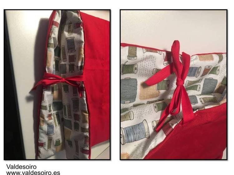 como hacer una funda para la máquina de coser
